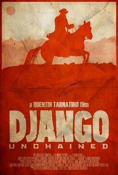 The D is Silent - Django Unchained Poster by disgorgeapocalypse.deviantart.com on @deviantART