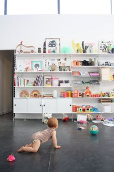 This might leave the toys too exposed. Playroom Storage, Playroom Ideas, Ikea Home, Love Your Home, Baby Kind, Nursery Inspiration, Kid Spaces, Children's Place, Boy Room