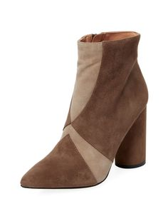 Knox Bicolor Leather Bootie