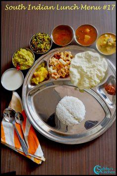 Parangikai Puli Kuzhambu, Aviyal Kuzhambu, Vengaya Rasam, Vendaya Keerai Thuvaran, Peerkangai kootu | Subbus Kitchen