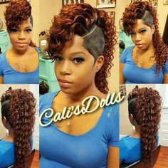 All About Hairstyles Short Quick Weave Hairstyles, Braided Mohawk Hairstyles, Black Ponytail Hairstyles, Cute Hairstyles For Short Hair, Creative Hairstyles, 2015 Hairstyles, Mohawk Ponytail, Ponytail Styles, Curly Mohawk