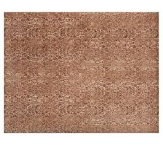 Andorra Printed Tile Rug - Terracotta #Pottery Barn