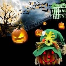 #Banggood Хэллоуин LED тыква ночник главная партия украшение упорки (946718) #SuperDeals