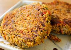 Chickpea and Quinoa Burgers     These gluten-free, vegan burgers are also free of soy, featuring chickpeas and crunchy pumpkin seeds for a plant-protein-heavy patty.. You can serve it without a bun if you want to cut down on carbs.