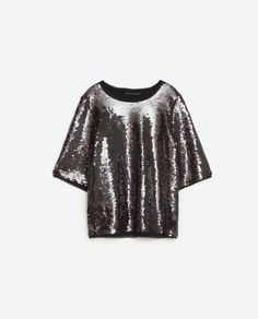 SEQUINNED TOP - View all-TOPS-WOMAN | ZARA United States