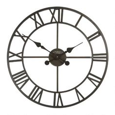 "20"" Cutout Indoor/Outdoor Clock $39.99"