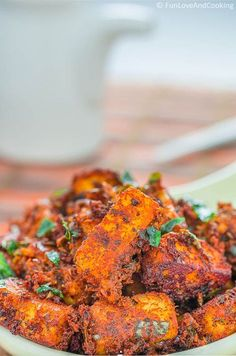 Paneer Fry is a very common Indian food but this recipe of Paneer Fry but this recipe would give you an unique taste. Veg Recipes, Indian Food Recipes, Vegetarian Recipes, Chicken Recipes, Cooking Recipes, Healthy Recipes, Recipies, Vegetarian Appetisers, Appetiser Recipes