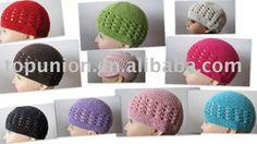 crochet beanie,100% cotton