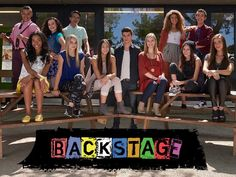 Cast of Disney show Backstage Disney Channel Shows, Disney Shows, Disney Xd, Disney Movies, Series Movies, Movies And Tv Shows, Cartoon Network, Backstage Disney, Angst Im Dunkeln