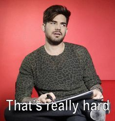 """Adam Lambert Plays A Game Of """"Would You Rather"""" And Things Get Hilarious - http://www.buzzfeed.com/kimberleydadds/adam-lambert-plays-a-hilarious-game-of-would-you-rather?utm_term=4ldqpia"""
