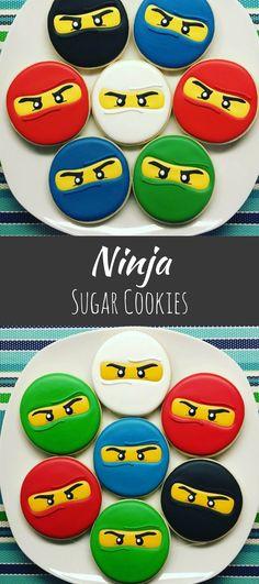 One Dozen Ninjago Sugar Cookies #affiliate