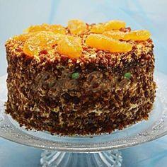 Tort cu nuca si portocale Kiwi, Mousse, Desserts, Food, Pineapple, Tailgate Desserts, Deserts, Essen, Postres
