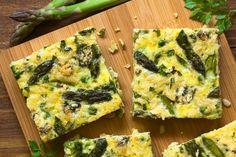 Frittata agli asparagi:--
