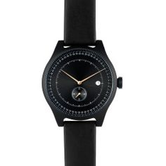 SQ31 Aluminum Watch - Black/Black
