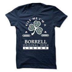 (Tshirt Best Tshirt) BORRELL Kiss Me Im Team Best Shirt design Hoodies, Funny Tee Shirts