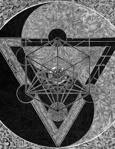 Merkaba and Yin & Yang / Sacred Geometry <3