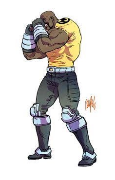 Luke Cage a.k.a Power Man! by FelipeSmith.deviantart.com on @DeviantArt