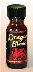 Magickal Uses: Just think of the power and fire of a dragon. The planet for Dragon's Blood is Mars. Dragon's Blood Oil adds strength and power to magick and spells, aids in protection, adds potency to mojo bags, candles, amulets. Anoint any magickal tool. Dragon's blood is also used in sealing a pact or a promise. It is a great sealer for planned transformation.