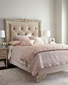 julia king tufted bed | tufted bed, house and bedrooms
