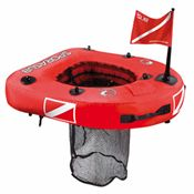 Sporasub Spydernet Float with Removable Net and Dive Flag