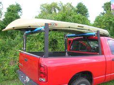 PVC truck bed racks