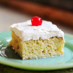 Try Tres Leches Cake/The Pioneer Woman! You'll just need Ingredients, 1 cup All-purpose Flour, 1-1/2 teaspoon Baking Powder, 1/4 teaspoon Salt, 5 whole...