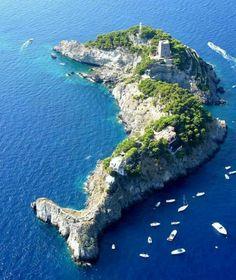 Arcipelago de Li Galli, Italia