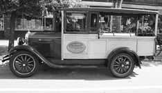 Title  1928 Chevy Half Ton Pick Up In Black And White   Artist  John Telfer   Medium  Photograph