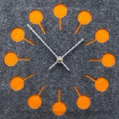 Felt Clock.