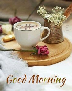 Expert Advice When It Comes To Brewing Coffee - Ultimate Coffee Cup Good Morning Gift, Good Morning Coffee Gif, Good Morning Flowers, Good Morning Greetings, Coffee Break, Café Chocolate, Coffee Flower, Pause Café, Good Afternoon