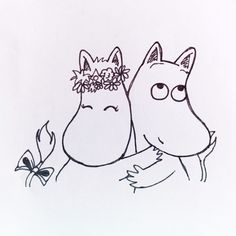 moomin doodle 2 by - photo #33