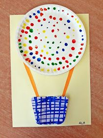 KOLOROWY ŚWIAT DZIECI: Kolorowe balony z papierowych talerzy Preschool Art Activities, Toddler Learning Activities, Diy For Kids, Crafts For Kids, Arts And Crafts, Transportation Theme Preschool, Crafts For 3 Year Olds, Earth Day Crafts, Teacher Appreciation Gifts