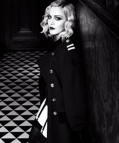 Madonna stars in a dark cover story for the February 2017 issue of Harper's Bazaar magazine.…
