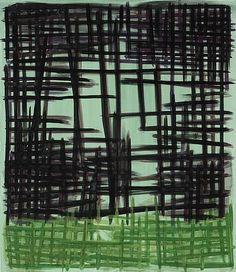 Untitled (2006) by German artist Günther Förg (1952-2013). Acrylic on canvas, 150 x w: 130 cm. via Galerie Elisabeth & Klaus Thoman on artnet