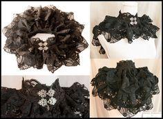 Lace collar, Somnia Romantica by Marjolein Turin by SomniaRomantica on deviantART