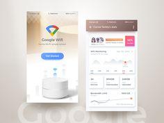Google Wifi App by Rifayet Uday #Design Popular #Dribbble #shots