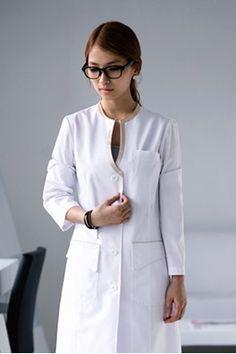 66 ideas medical doctor outfit fashion lab coats for 2019 Spa Uniform, Scrubs Uniform, Dental Uniforms, Housekeeping Uniform, Gudrun, Lab Coats, Medical Scrubs, Fashion Outfits, Medical Doctor