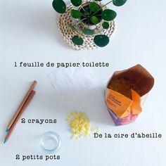 Merci Raoul: DIY: Une bougie naturelle en cire d'abeille facile facile et bonne pour la santé...