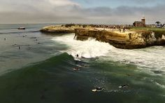Aerial surf filming with the DJI Phantom quadcopter