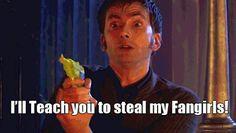 doctor who david tennant and matt smith Doctor Who, 10th Doctor, Tardis, Don't Blink, Matt Smith, It Goes On, David Tennant, Dr Who, Tumblr Funny