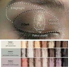 A little guide for applying you eyeshadow! I am in love with Younique's palettes! Www.youniqueproducts.com/samanthagabrelcik