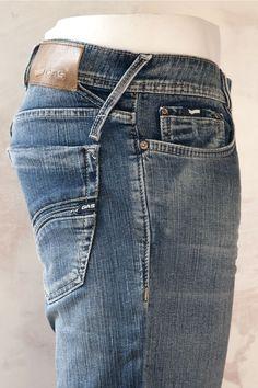 Gas Jeans Norton Bootcut W179 denim denim denim menswear