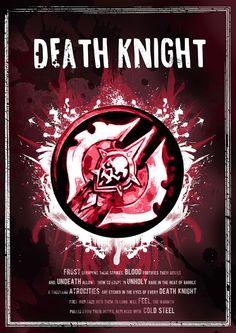 World of Warcraft: Death Knight Class Symbol by SodaArcade on Etsy
