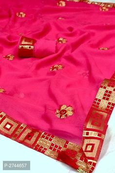 Designer Art Silk Embroidered Sarees with Lace Border from Stf Store Pink Art, Blue Art, Designer Silk Sarees, Orange Art, Grey Art, Lace Border, Best Budget, Embroidered Silk, Designer Wear