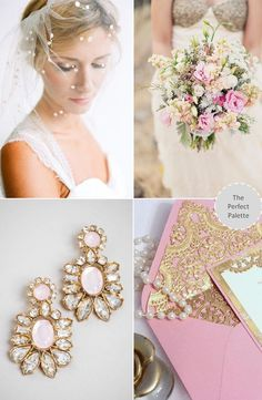 Shades of Pink + Gold