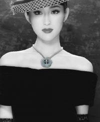 Free PDF tutorial - Crystal Rose Necklace from Japanese Beadwork with Sonoko Nozue