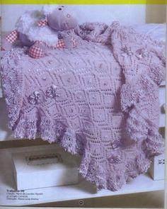 Esse é um blog de tricô e crochê para bebês e vídeo aulas ensinando á tricotar.