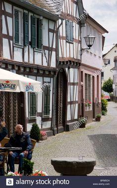 Marktplatz, Erpel, Rhine, Germany Stock Photo, Royalty Free Image: 26873521 - Alamy