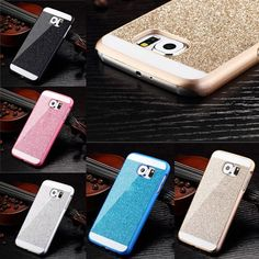 HOT Bling Rhinestone Crystal Rhinestone Case Cover for Samsung Galaxy S6 Edge in Cell Phones & Accessories, Cell Phone Accessories, Cases, Covers & Skins | eBay