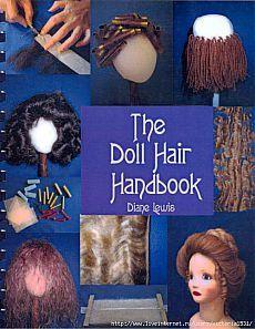 прически для кукол.